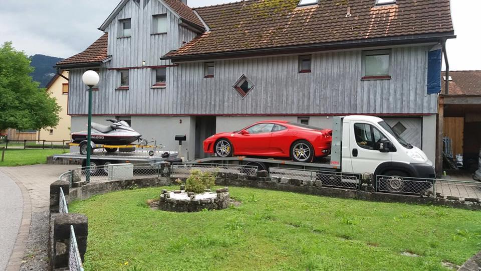 transport samochodow
